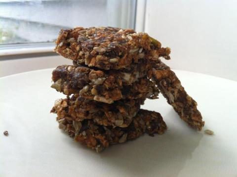 dried apple muesli chews