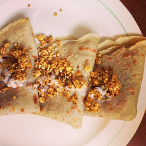 Some Crepe My Kids Ate (vegan, gluten free, perfect)