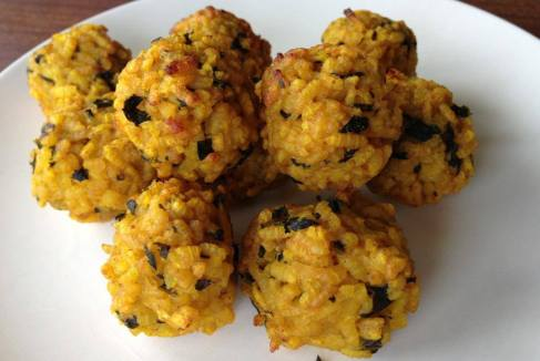 Two Healthy Bangin Meals You'll Wanna Make: Cheesy Vegan Risotto Balls and Smoky Black Bean Burgers